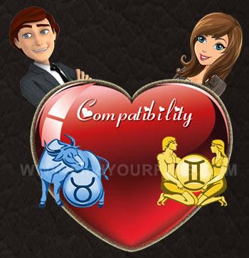 Taurus Man-Gemini Woman Compatibility