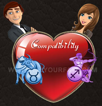 Taurus Man-Sagittarius Woman Compatibility