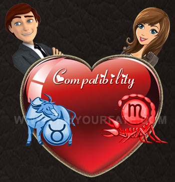 Taurus Man-Scorpio Woman Compatibility