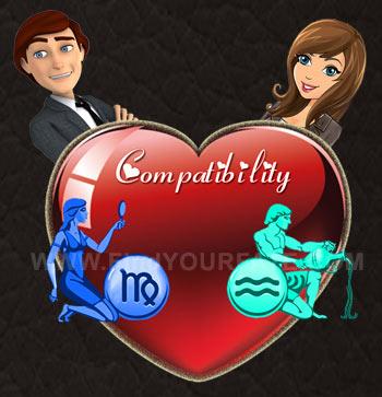 Virgo Man-Aquarius Woman Compatibility