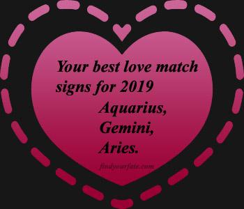 zodiac signs perfect love match