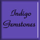 Indigo gemstones