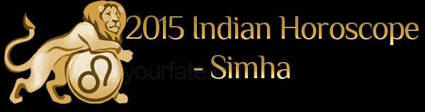2015 Simha Horoscopes