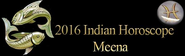 2016 Meena Horoscopes