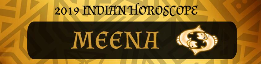 2019 Meena Horoscope | Meena 2019 Indian horoscope