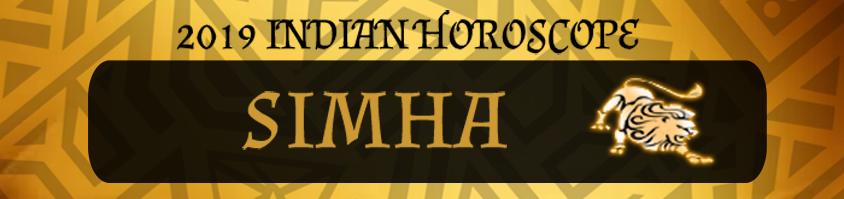 2019 Simha Horoscope | Simha 2019 Indian horoscope