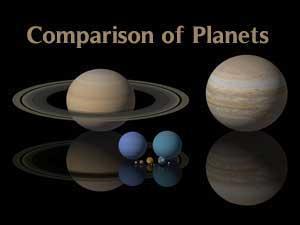 Planetary types Variations