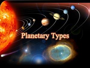 Planetary Types