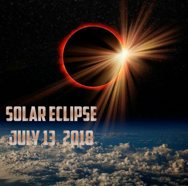 Solar Eclipse- July 13, 2018