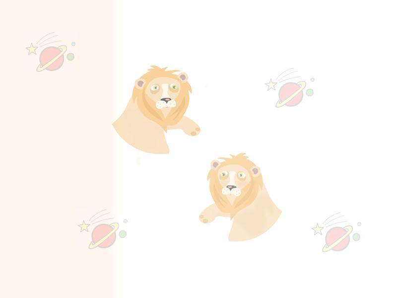 Leo - Free Astrology Stationery